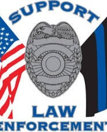 Support Law Enforcement Window Decal