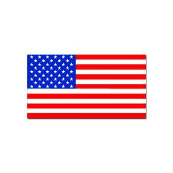 Mitchell Proffitt USA Flag Decal Bumper Sticker