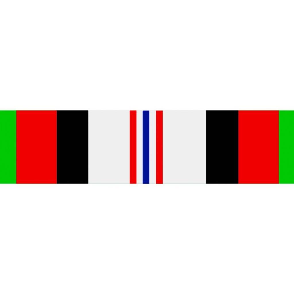 Mitchell Proffitt Afghanistan Campaign Ribbon Sticker