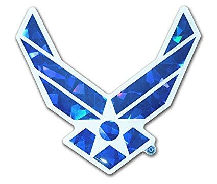 Mitchell Proffitt US Air Force Symbol Reflective Domed Decal