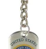 Ramsons Imports Marines Dog Tag Key Chain