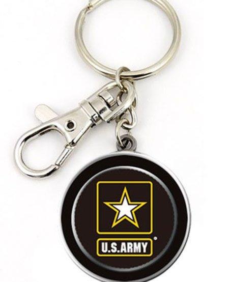 Army Circle Lobster Key Chain