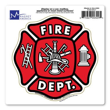 Fire Dept. Magnet