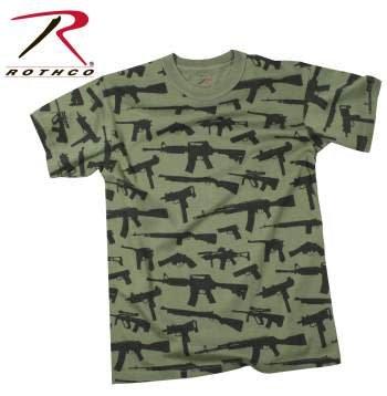 Rothco Rothco Vintage 'Guns' T-Shirt