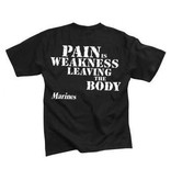 Rothco Marines - Pain is Weakness Leaving the Body - T-Shirt
