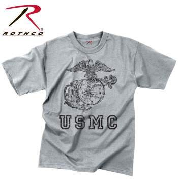 Rothco Vintage USMC Globe & Anchor T-Shirt