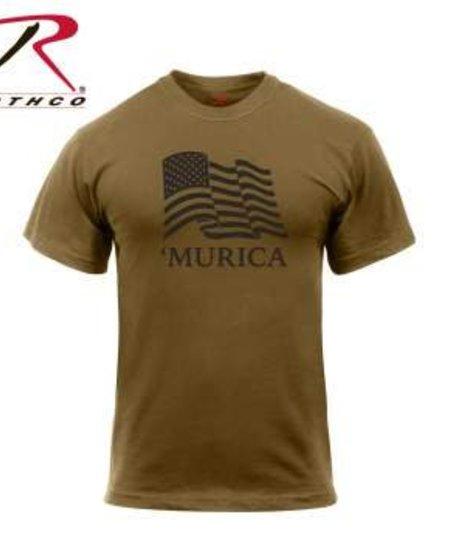 'Murica US Flag T-Shirt