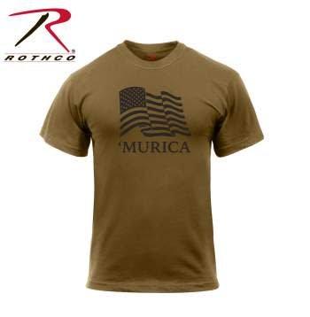 Rothco 'Murica US Flag T-Shirt