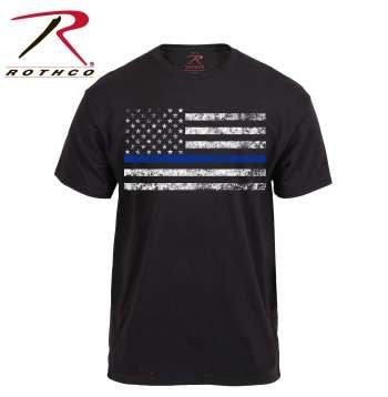 Rothco Thin Blue Line T-Shirt