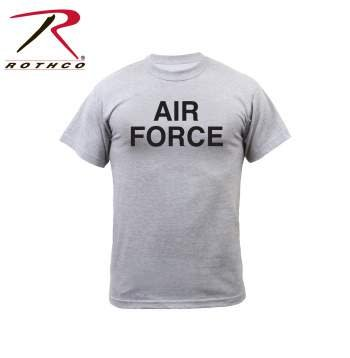 Rothco Air Force Grey Physical Training T-Shirts