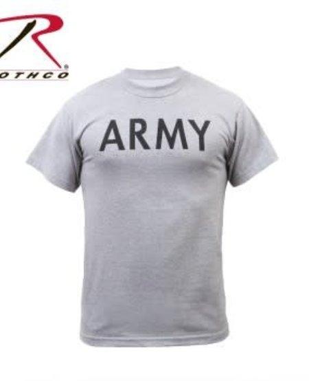 Army Grey Physical Training T-Shirts