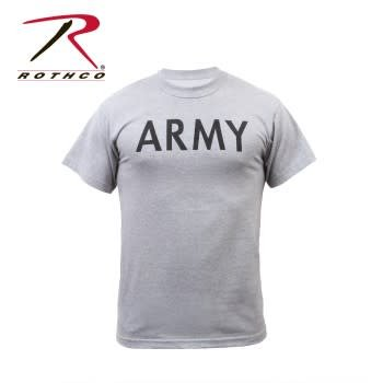 Rothco Army Grey Physical Training T-Shirts