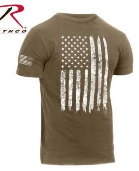 Distressed US Flag T-Shirt