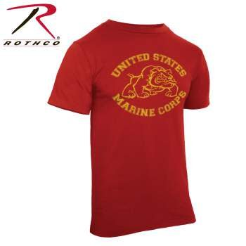 Rothco Vintage US Marines Bulldog T-Shirt