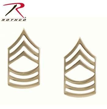 Rothco Master Sergeant Polished Insignia