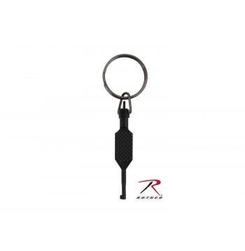 Flat Knurled Swivel Handcuff Key