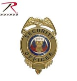 Rothco Security Officer Badge w/Flags