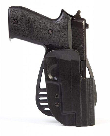 Uncle Mike's Law Enforcement Kydex Hip Holster - Left Hand Size 21