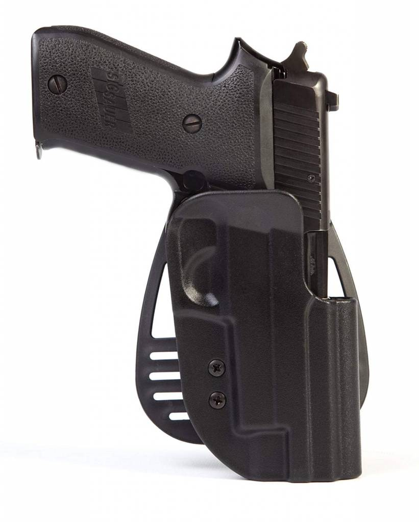 Uncle Mike's Uncle Mike's Law Enforcement Kydex Hip Holster - Left Hand Size 21