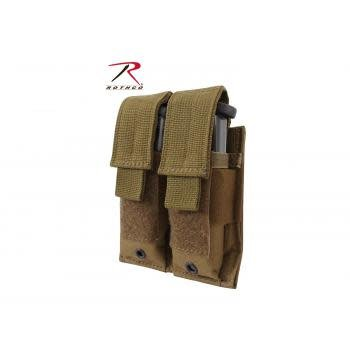 Rothco Double Pistol Mag Pouch - MOLLE