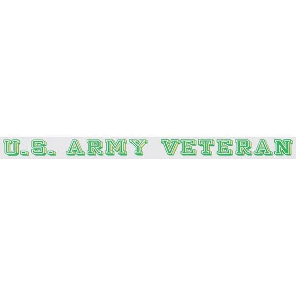 "Mitchell Proffitt US Army Veteran 18"" x 1.5"" Window Strip"