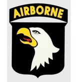 "Mitchell Proffitt 101st Airborne Shield 2.75"" x 3.75"" Decal"
