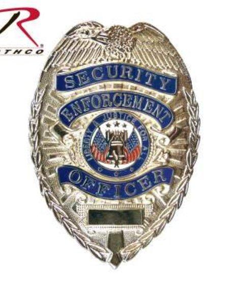 Deluxe Security Enforcement Badge