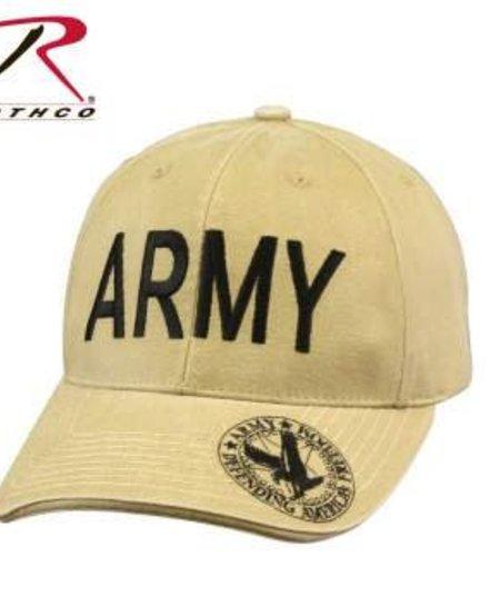 Vintage Deluxe Army/Eagle Low Profile Cap - Hat