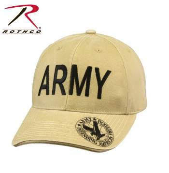 Rothco Vintage Deluxe Army/Eagle Low Profile Cap - Hat