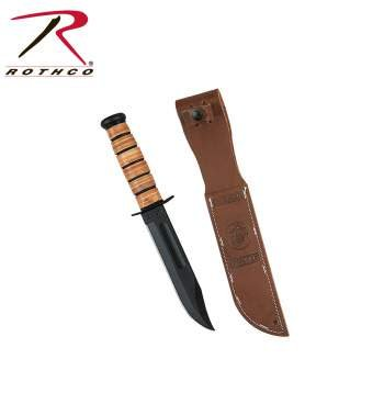 Ka-Bar Genuine Ka-bar USMC Combo Edge Fighting Knife