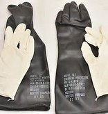 Norton Company Chemical Protective Glove Set with Cotton Insert