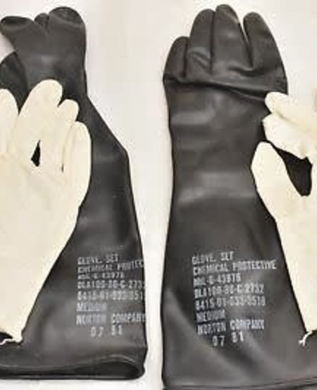 Chemical Protective Glove Set with Cotton Insert
