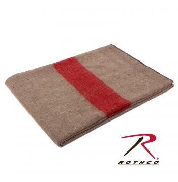 Rothco Swiss Style Wool Blanket - Fire Retardant