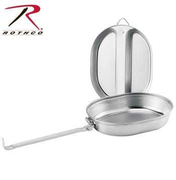 Rothco GI Type Stainless Steel Mess Kit