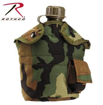 Rothco G.I. Type Enhanced Nylon Canteen Cover
