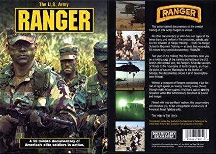 US Army Ranger DVD