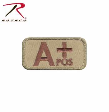 Rothco A Positive Blood Type Patch
