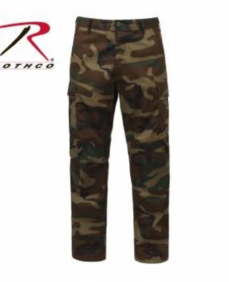 BDU Camo Tactical Pants