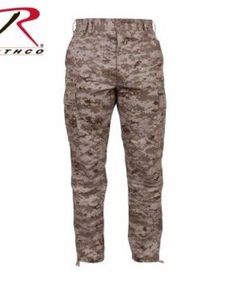 BDU Digital Camo Tactical Pants