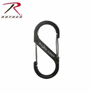 Rothco Black Nite-Ize S-Biners