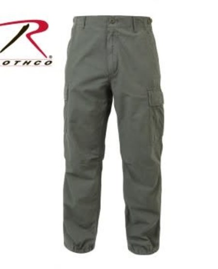 Vintage Vietnam Fatigue Pants - Rip-Stop