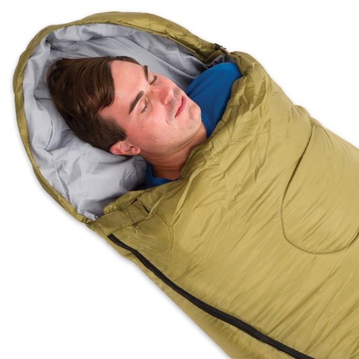 RIPSTOP MUMMY SLEEPING BAG