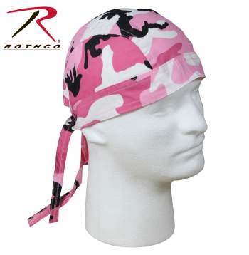 Rothco Color Camo Headwrap - Color : Pink Camo