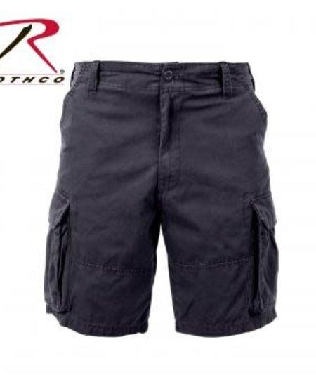 Vintage Solid Paratrooper Cargo Shorts