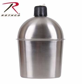 Rothco GI Style Stainless Steel Canteen
