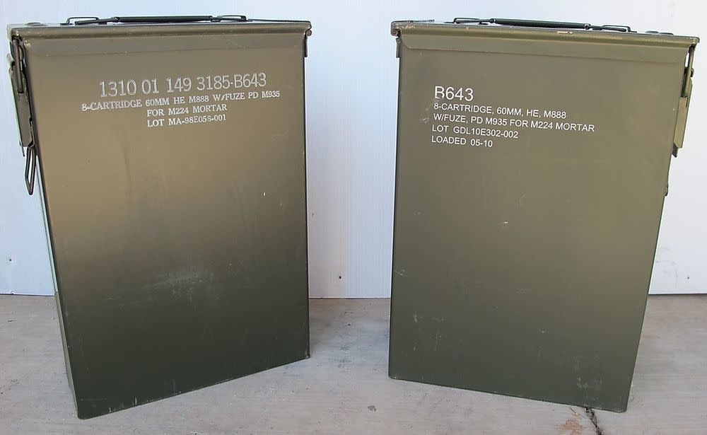 60MM Ammo Cans