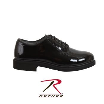 Rothco Uniform Hi-Gloss Oxford Dress Shoe