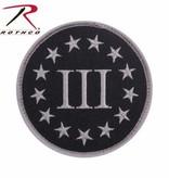 Rothco Three Percenter Patch