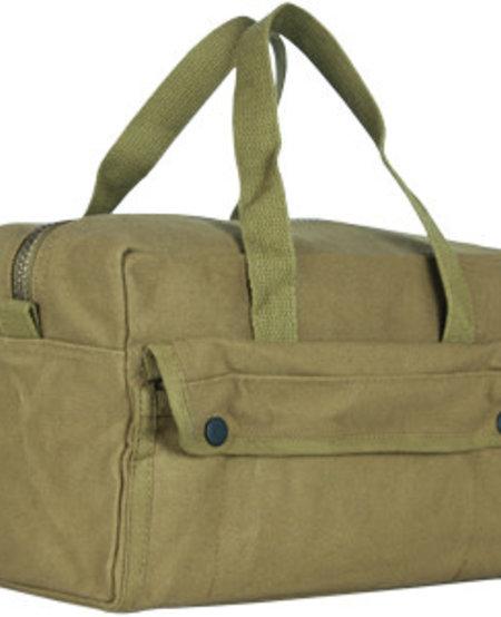Mechanic's Tool Bag with Brass Zipper