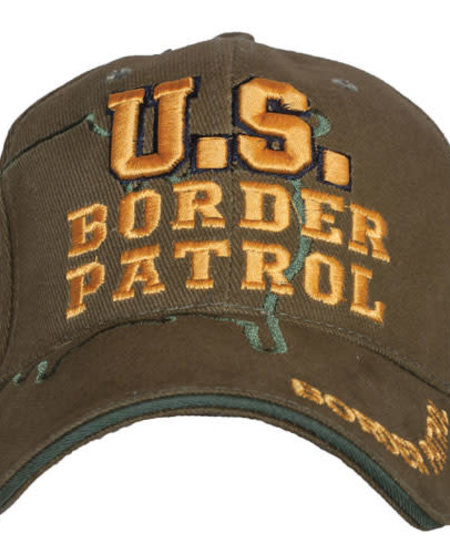 US Border Patrol Embroidered Ball Cap